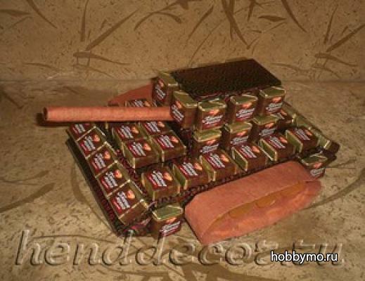 Как сделать танк своими руками пошаговое фото