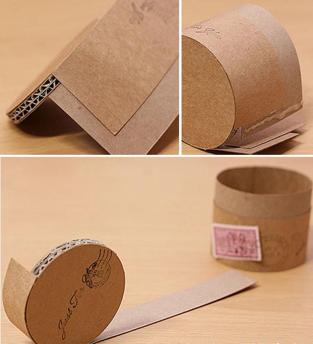 Как сделать подарочную коробку из ватмана