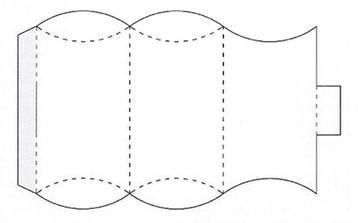 Конфета из бумаги своими руками схема