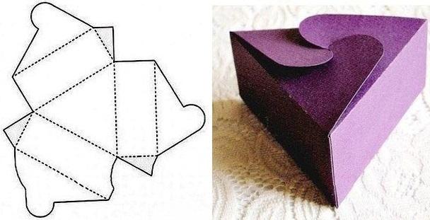 Как сделать из бумаги своими руками подарочную коробку