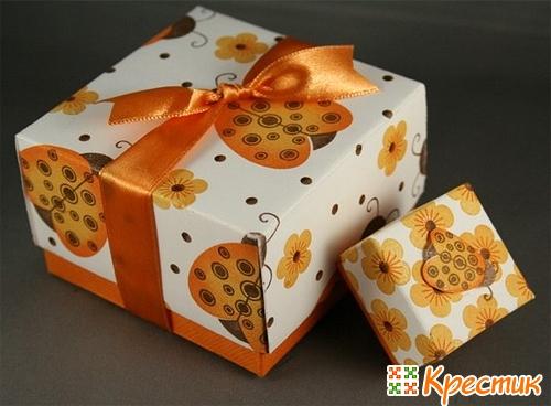 Коробки для подарков своими руками фото