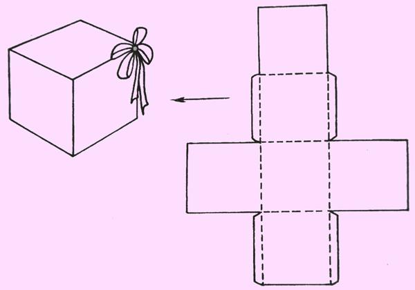 Как сделать коробочку из картона своими руками
