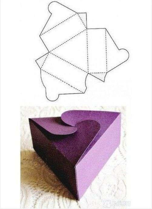 Сделать подарок своими руками из картона