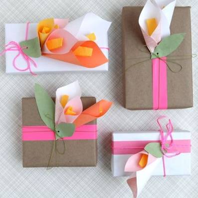 Коробка для подарков из картона своими руками