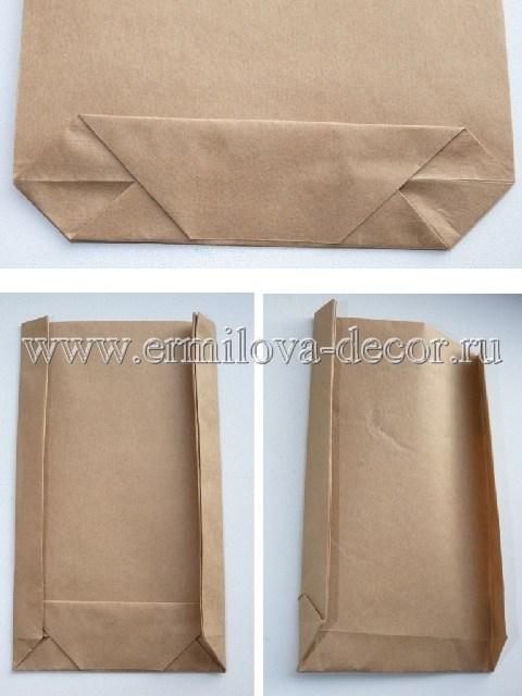 Бумажный пакет своими руками
