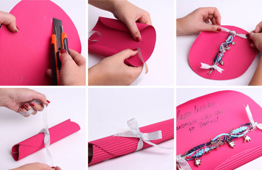 Как упаковать своими руками
