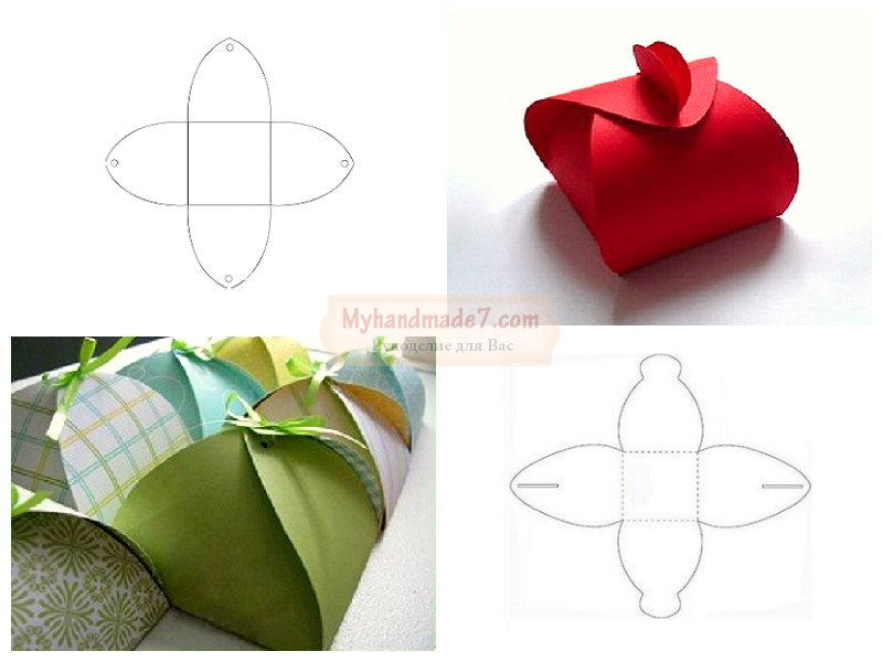 Как красиво упаковать объемный подарок своими руками 80