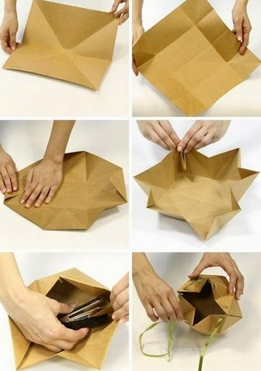 Как можно упаковать подарок своими руками