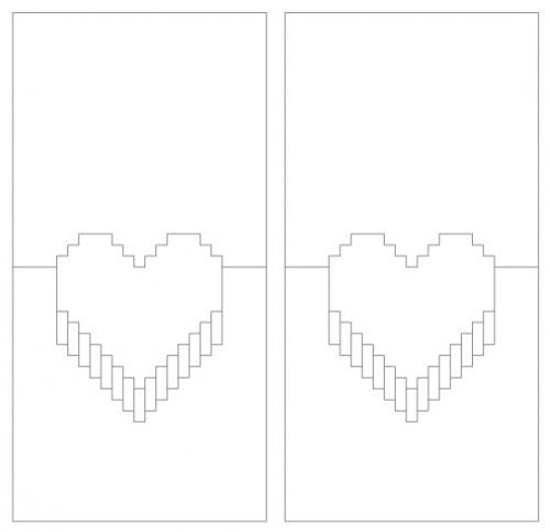 Объёмные открытки из бумаги своими руками схемы