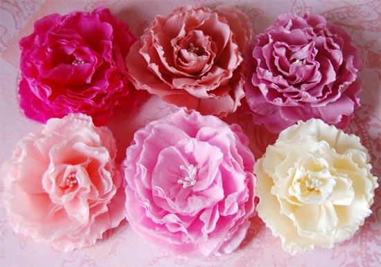 Как сделать цветы из гофрированной бумаги своими руками схема