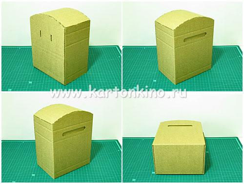 Как сделать из картона почтовый ящик своими руками