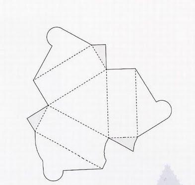 Коробочка картонная своими руками
