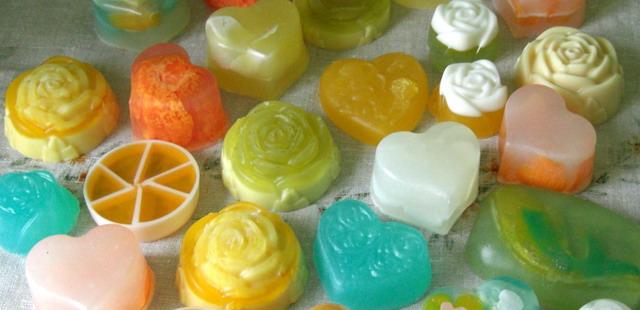 Мыло разных форм