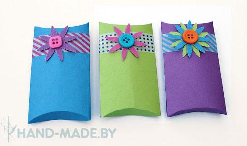 Как сделать конверт подарочный своими руками