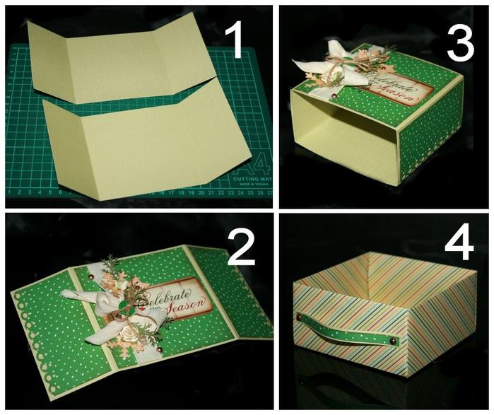 Как украсить коробку своими руками для обуви