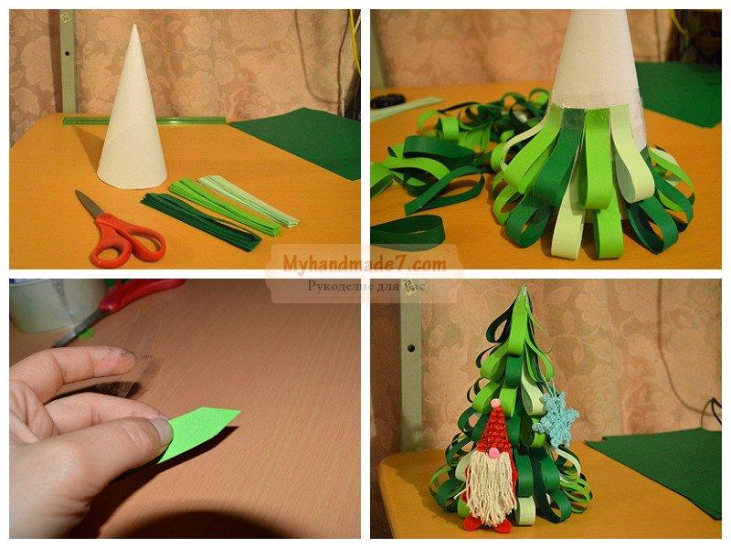 Сделать поделку из бумаги картона