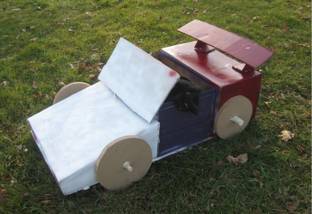 Как сделать машину детскую видео