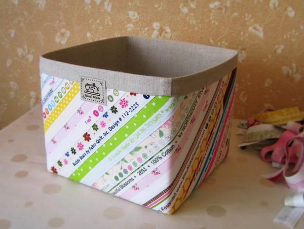 Короб из картона  мастер класс