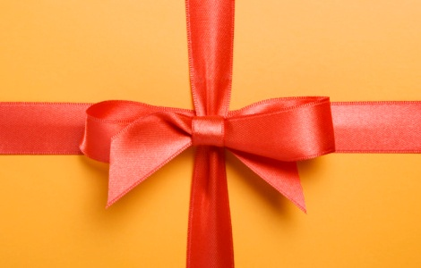 Красивые банты для подарков и