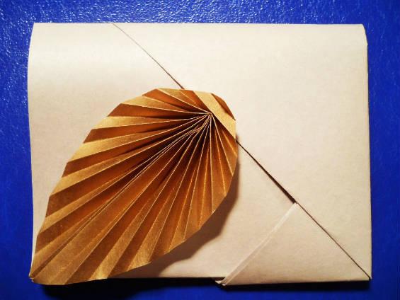 Подарочный оригами-конверт из