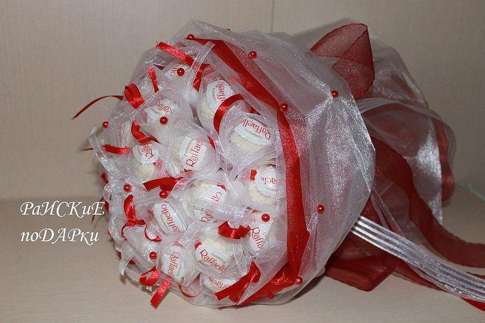 Букеты из конфет своими руками как сделать