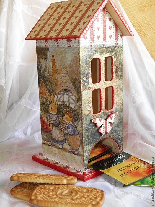 Мастер класс домик из картона своими руками в детский сад