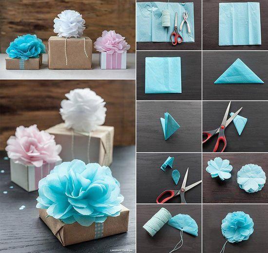 Подарки из бумаги своими руками на день рождения маме