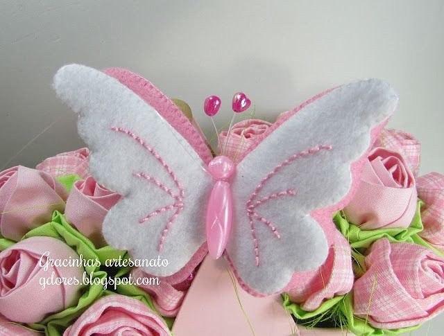 Бабочки на елку своими руками