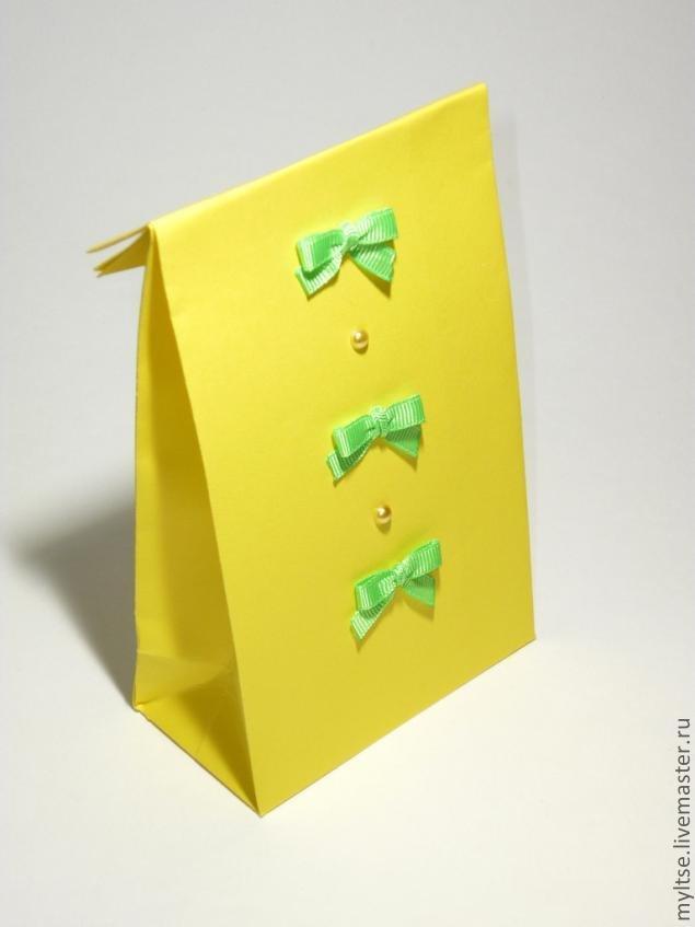 Подарок из бумаги а4 своими руками