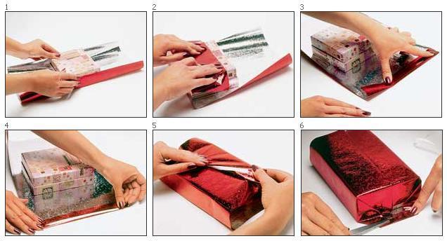 Как можно сделать подарочную упаковку своими руками