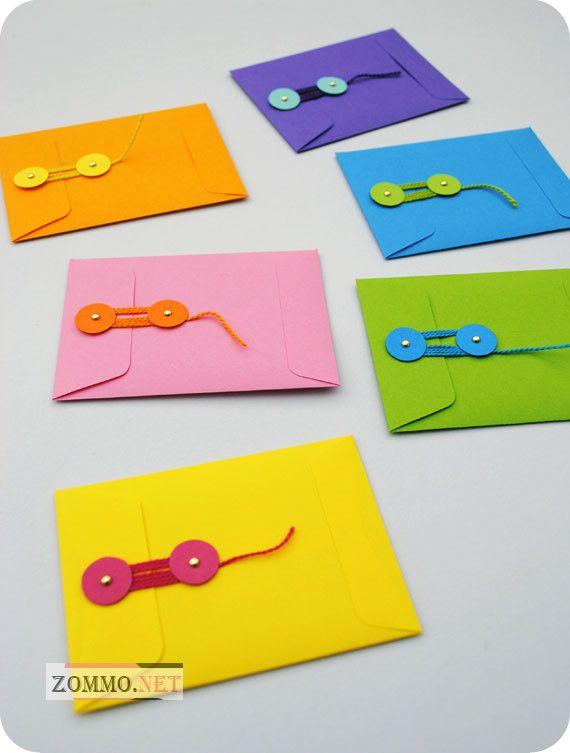 Большие конверты из бумаги своими руками