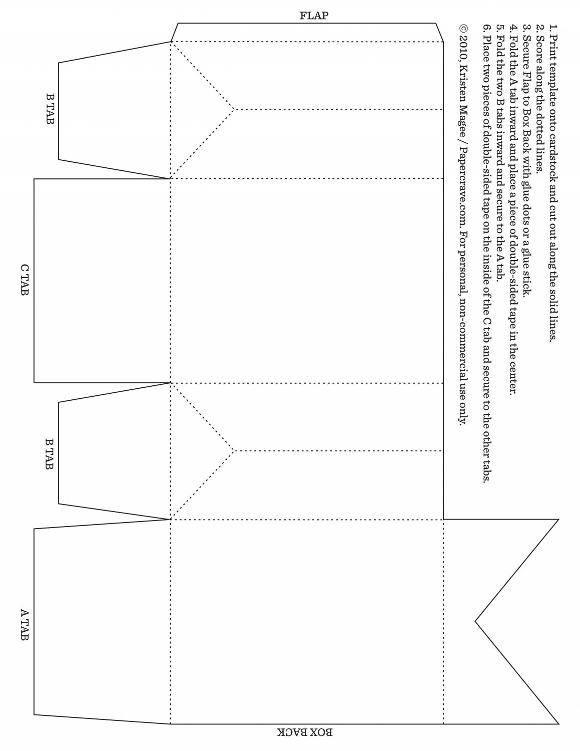 Как сделать упаковку для подарка из бумаги