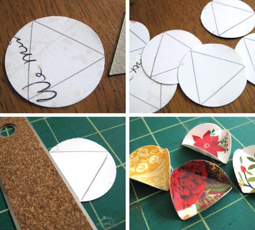 Делаем новогодние игрушки своими руками из бумаги