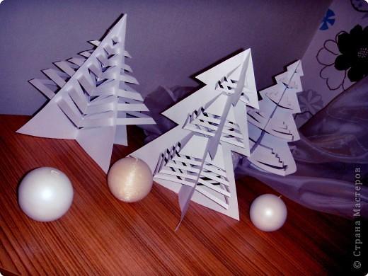 Новогодние поделки своими руками из бумаги белой