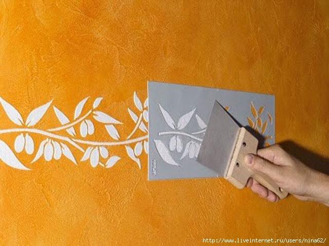 Как сделать трафарет для декора своими руками