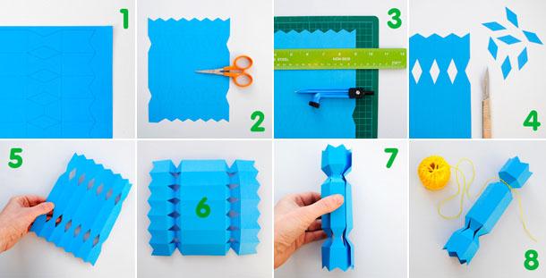 Упаковка для конфет в виде конфеты своими руками
