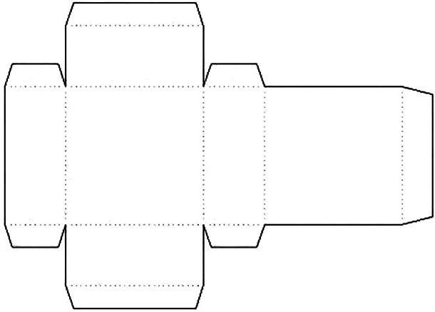 Коробочка прямоугольная своими руками шаблон
