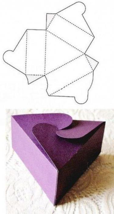 Как сделать из картона маленькую коробочку легко
