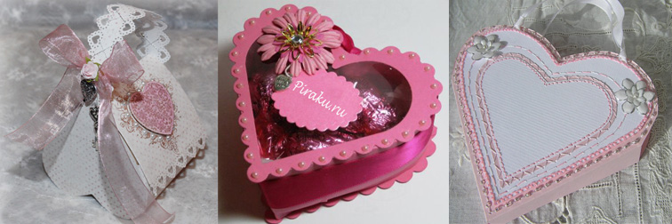 Коробочка для подарка своими руками в виде сердца