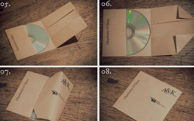 Как сделать обёртку для диска из бумаги