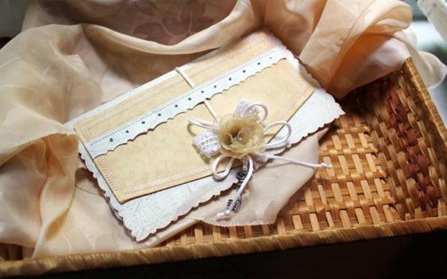 Оформление конвертов своими руками