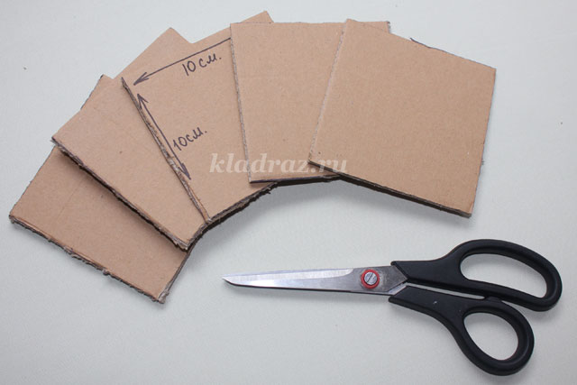 Как сделать коробочку без ножниц 732