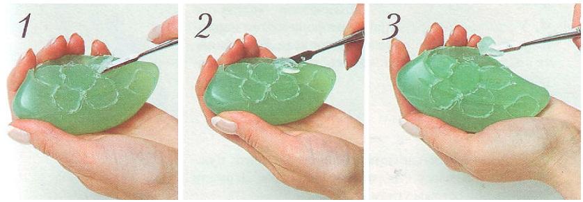 Как сделать мыло с кусочков