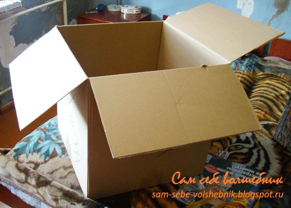 Коробки под вещи своими руками фото
