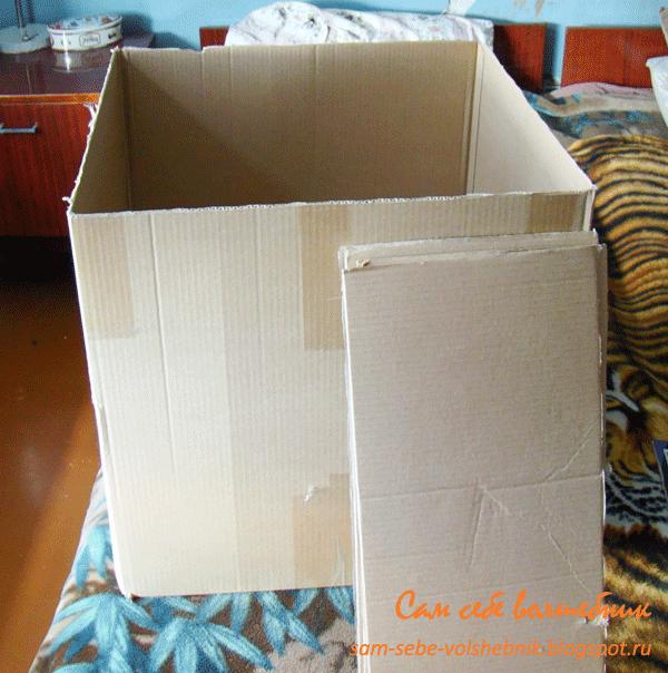 Как сделать коробку с крышкой для хранения вещей своими руками
