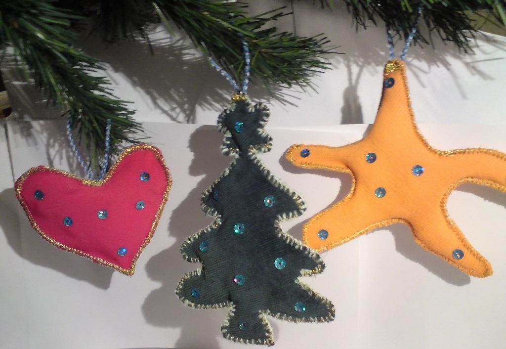 Эксклюзивные игрушки на елку своими руками