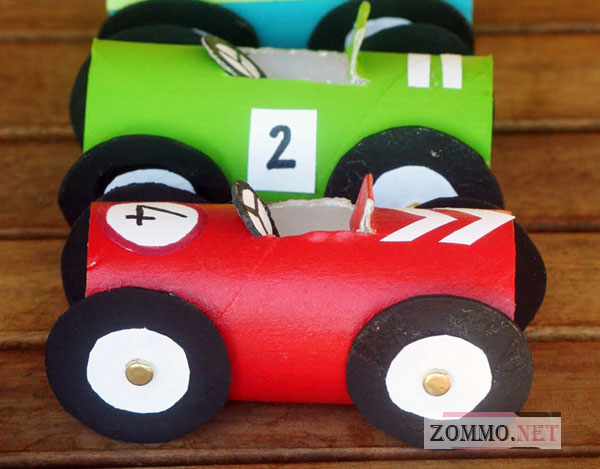 Машина из картона своими руками