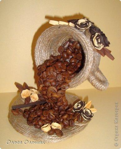 Чашки из кофе своими руками фото