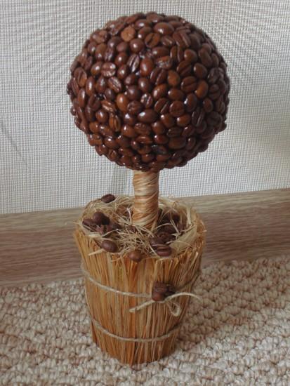 Мастер класс кофейное дерево своими руками