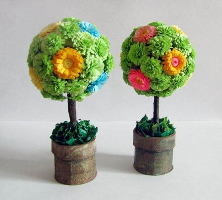 Как сделать красивые деревья своими руками